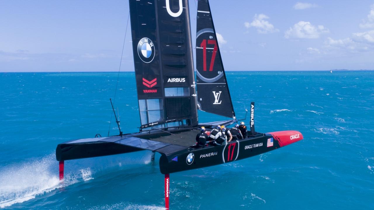 Hamilton (BDA) - 35th America's Cup Bermuda 2017 - ORACLE TEAM USA