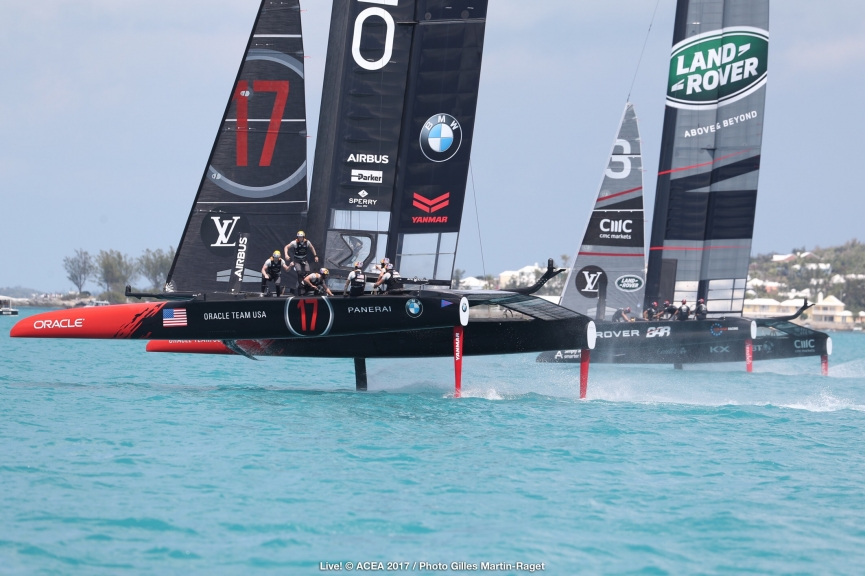 Bermuda (BDA) - 35th America's Cup 2017 - Louis Vuitton America's Cup Qualifiers, Day 2, Live Photo