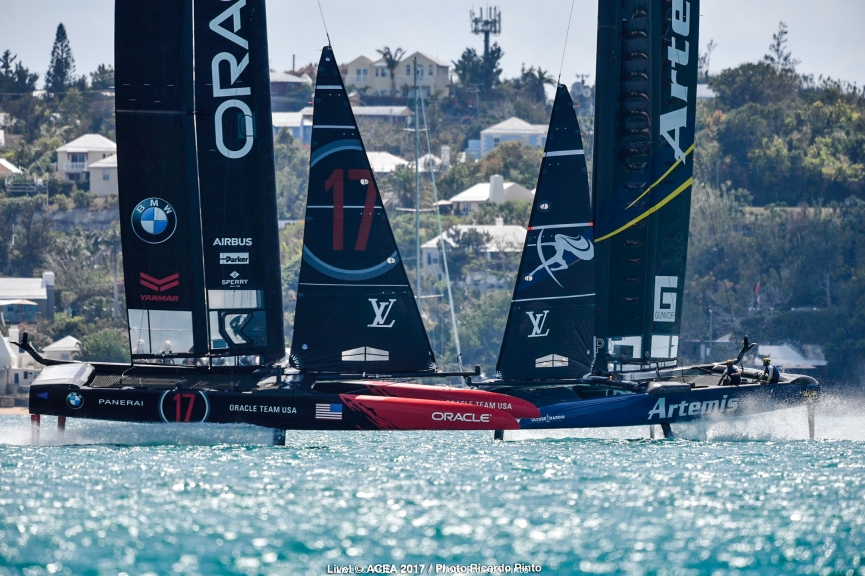 Bermuda (BDA) - 35th America's Cup 2017 - Louis Vuitton America's Cup Qualifiers - Day 2 - Live photos