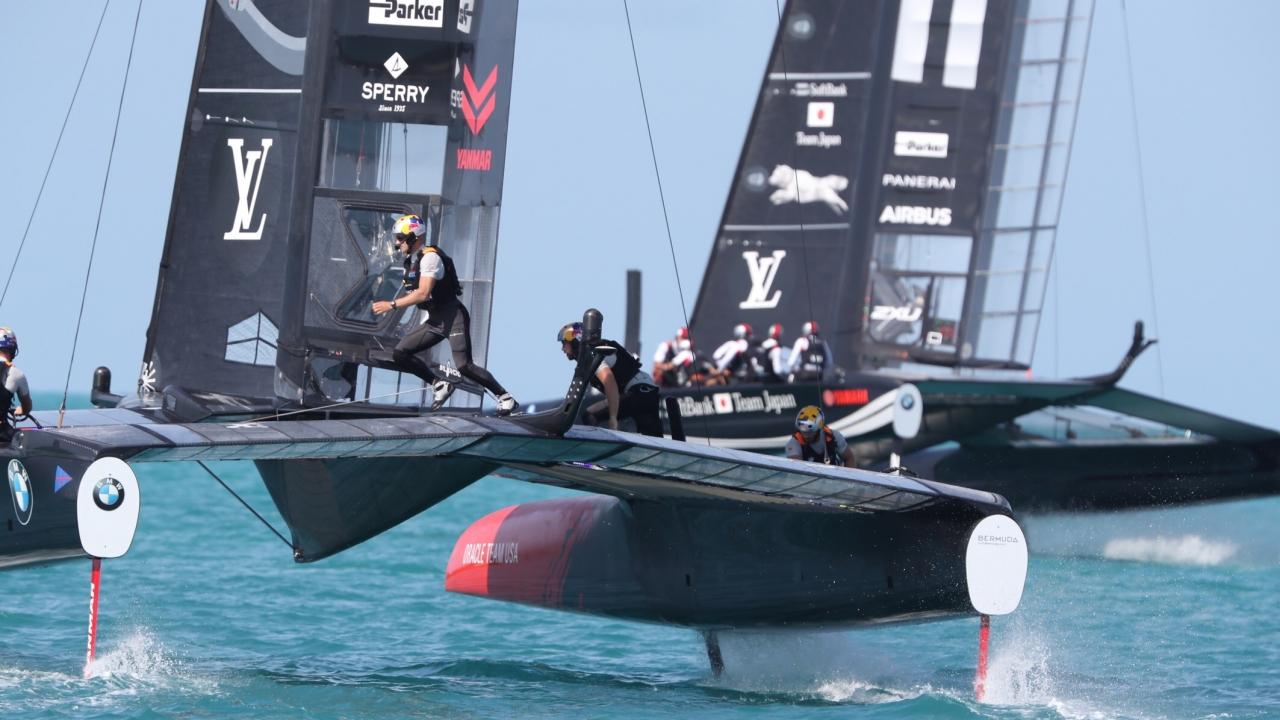 Bermuda (BDA) - 35th America's Cup 2017 - Louis Vuitton America's Cup Qualifiers, Day 2, Live Photo