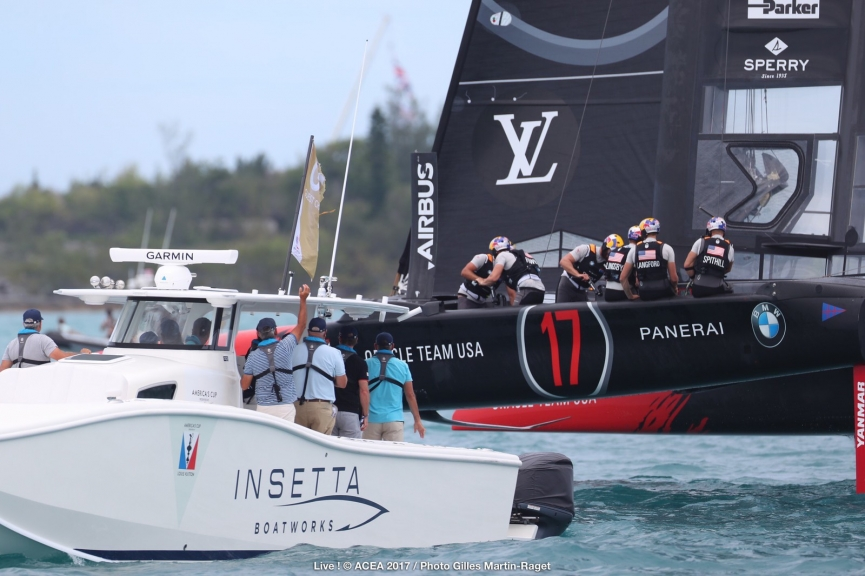 Bermuda (BDA) - 35th America's Cup Match presented by Louis Vuitton, Day 3 © ACEA 2017 / Photo Gilles Martin-Raget