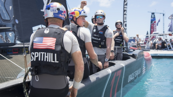 Hamilton (BDA) - 35th America's Cup Bermuda 2017 - ORACLE TEAM USA
