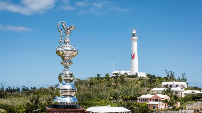 Royal Naval Dockyard (BDA) - 35th America's Cup Bermuda 2017 - Practice racing week for the 35th America's Cup