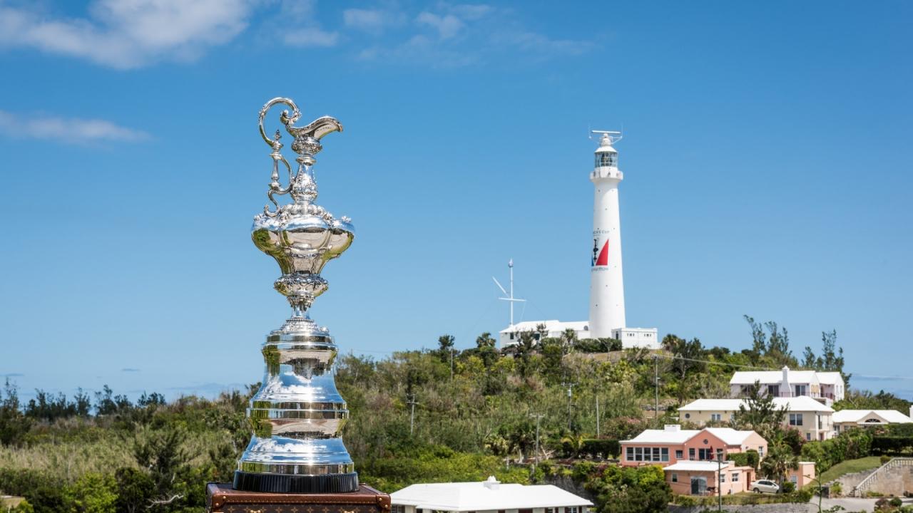 Royal Naval Dockyard (BDA) - 35th America's Cup Bermuda 2017 - Practice racing week for the 35th America's Cup